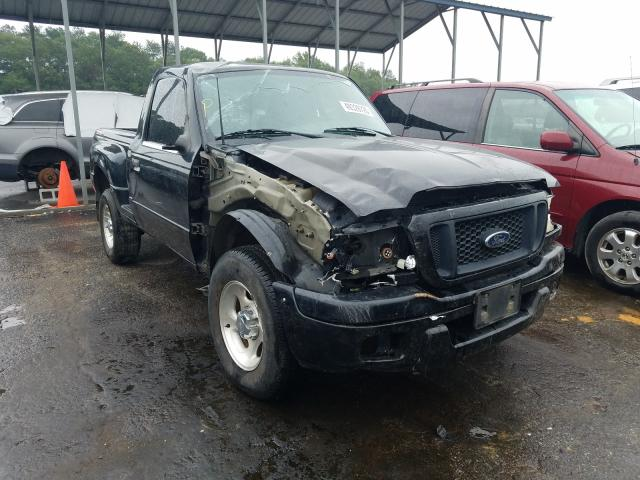 Salvage cars for sale from Copart Austell, GA: 2004 Ford Ranger