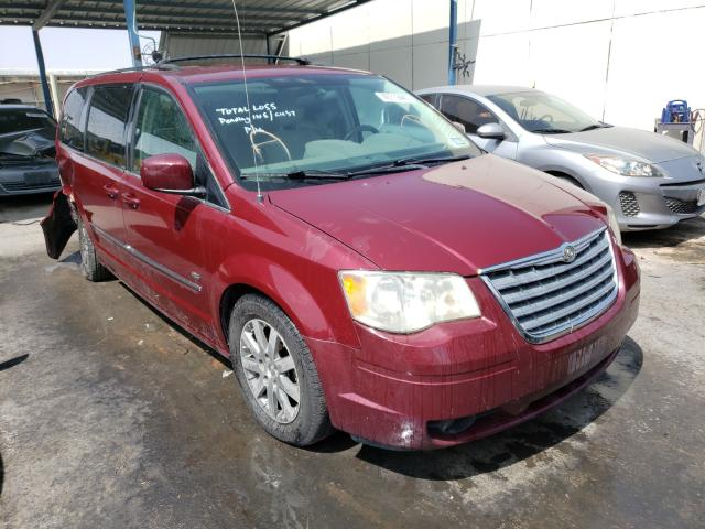 Salvage 2009 CHRYSLER TOWN & C - Small image. Lot 49719440