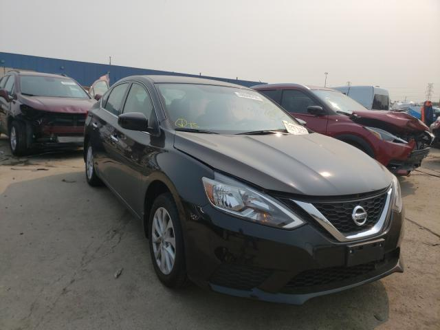 Salvage cars for sale from Copart Woodhaven, MI: 2019 Nissan Sentra S
