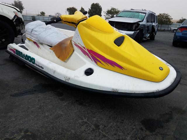 Salvage cars for sale from Copart Martinez, CA: 1996 Seadoo Bombardier