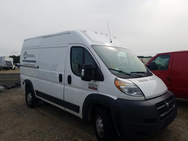 Salvage cars for sale from Copart Brookhaven, NY: 2018 Dodge RAM Promaster