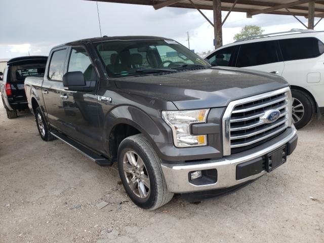 Salvage cars for sale from Copart Temple, TX: 2015 Ford F150 Super
