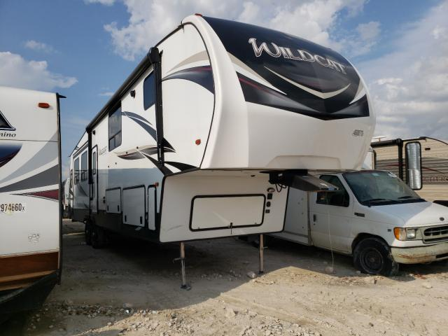 Wildcat salvage cars for sale: 2019 Wildcat Travel Trailer