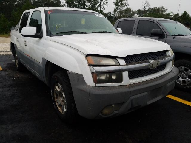 Salvage cars for sale from Copart Eight Mile, AL: 2002 Chevrolet Avalanche