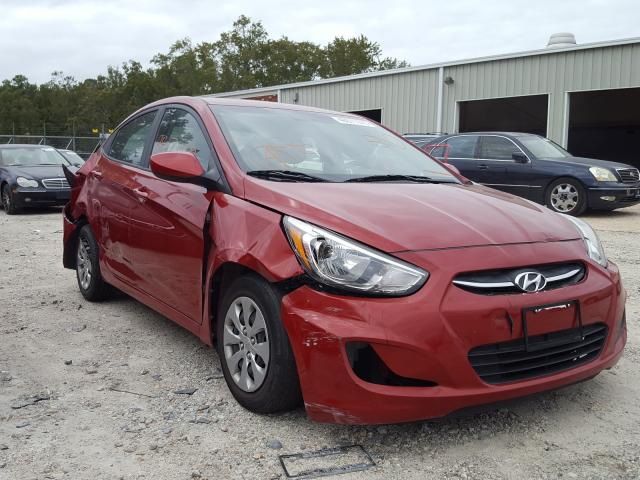 Hyundai Accent salvage cars for sale: 2017 Hyundai Accent