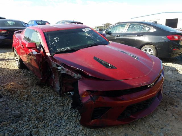 Salvage cars for sale at Cartersville, GA auction: 2018 Chevrolet Camaro SS