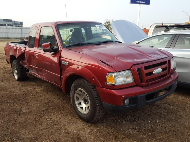 Salvage cars for sale from Copart Nisku, AB: 2007 Ford Ranger SUP