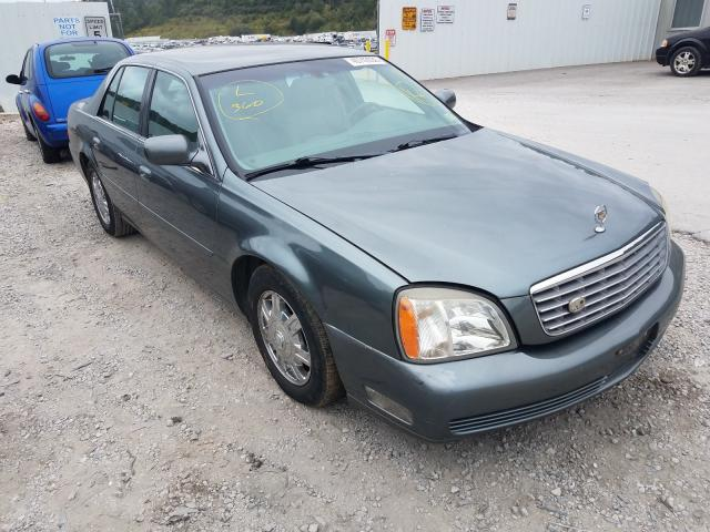 Salvage cars for sale from Copart Hurricane, WV: 2004 Cadillac Deville