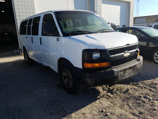 Chevrolet Express G1 salvage cars for sale: 2008 Chevrolet Express G1