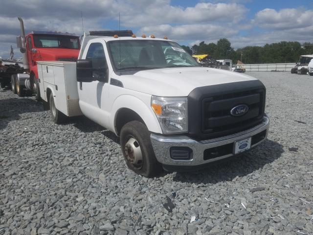 Salvage cars for sale from Copart Dunn, NC: 2016 Ford F350 Super