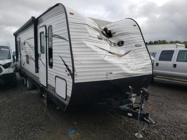 Salvage cars for sale from Copart Portland, OR: 2018 Jayco Flight