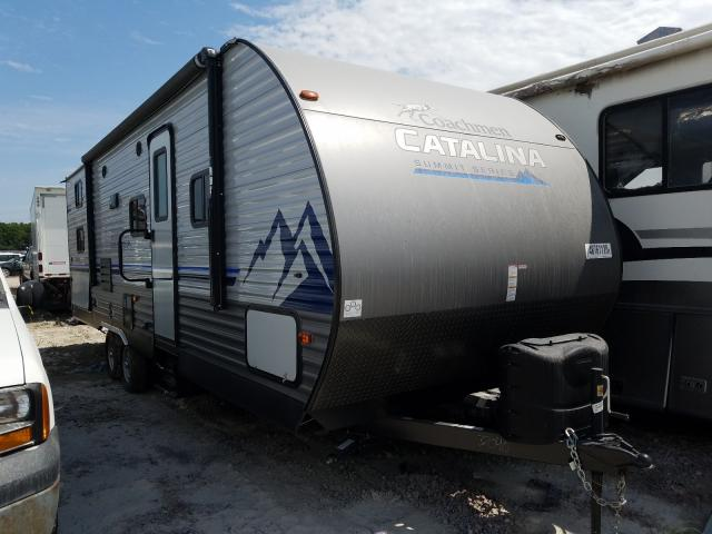 Coachmen Catalina salvage cars for sale: 2020 Coachmen Catalina