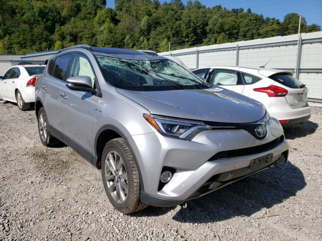 Salvage cars for sale from Copart Hurricane, WV: 2017 Toyota Rav4 HV LI
