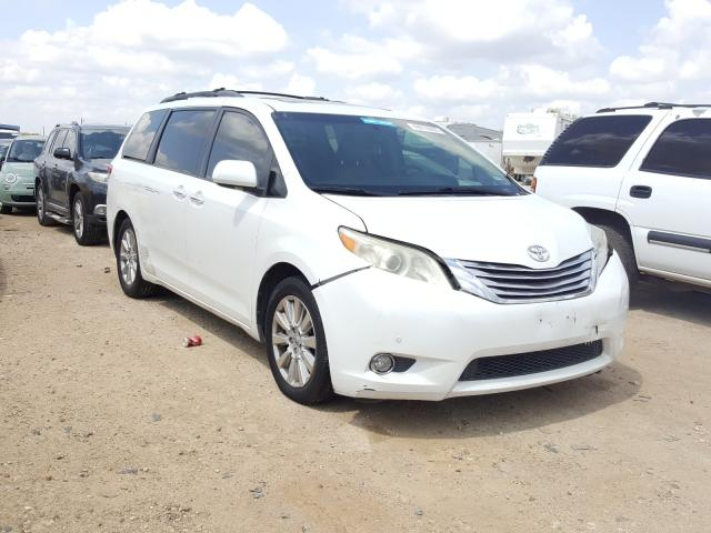 Salvage cars for sale from Copart San Antonio, TX: 2011 Toyota Sienna XLE
