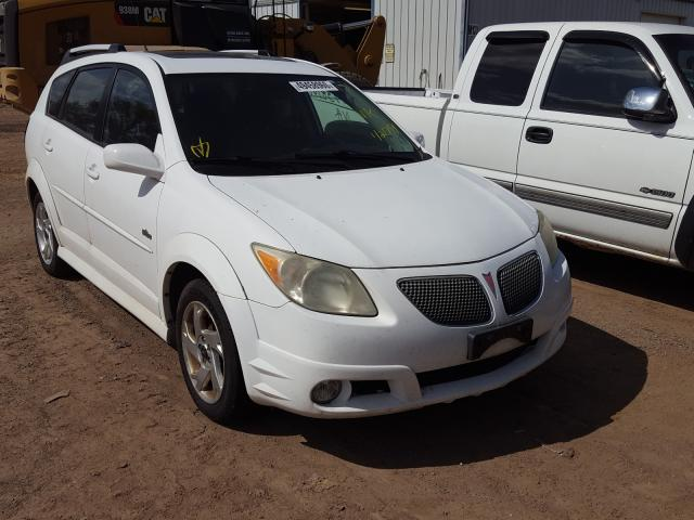 Salvage cars for sale from Copart Pekin, IL: 2006 Pontiac Vibe