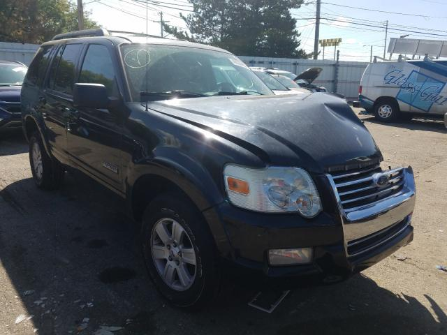 Salvage cars for sale from Copart Moraine, OH: 2008 Ford Explorer X