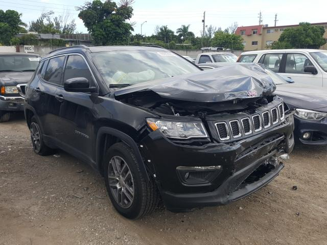 Salvage cars for sale from Copart Opa Locka, FL: 2020 Jeep Compass LA