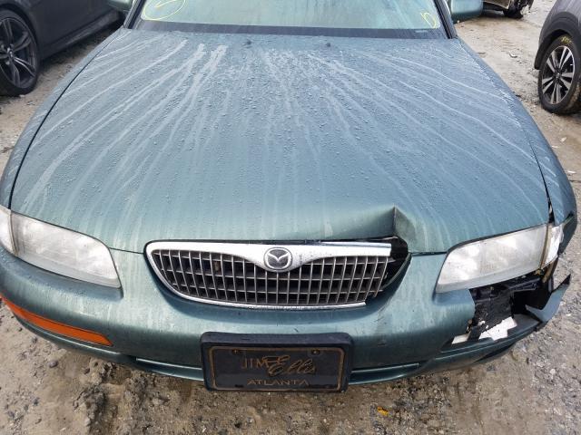 1998 mazda millenia sedan 4d 2 5l gas green للبيع loganville ga jm1ta2212w1417022 a better bid a better bid car auctions
