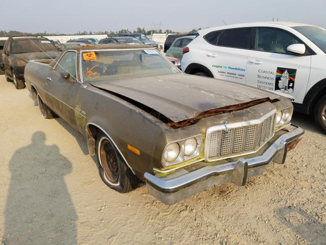 Salvage cars for sale from Copart Anderson, CA: 1974 Ford Ranchero