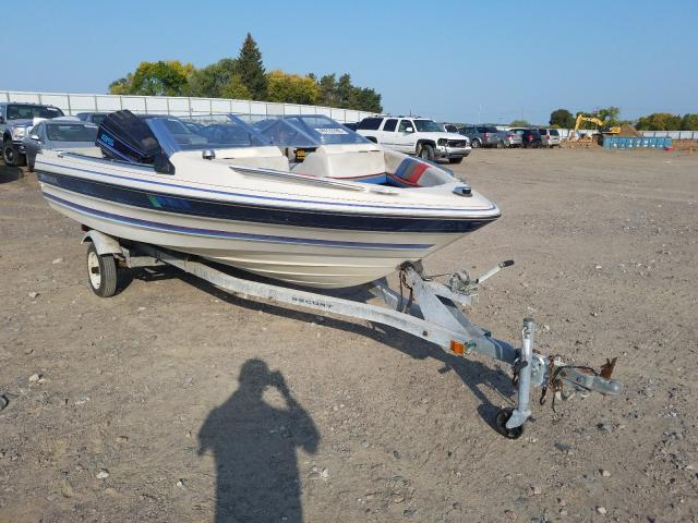 Bayliner salvage cars for sale: 2000 Bayliner Boat Trail