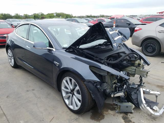 Salvage cars for sale from Copart Grand Prairie, TX: 2019 Tesla Model 3