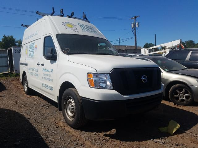 Salvage cars for sale from Copart Hillsborough, NJ: 2020 Nissan NV 2500 S