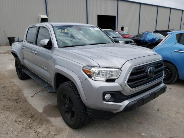 Salvage cars for sale from Copart Apopka, FL: 2019 Toyota Tacoma DOU