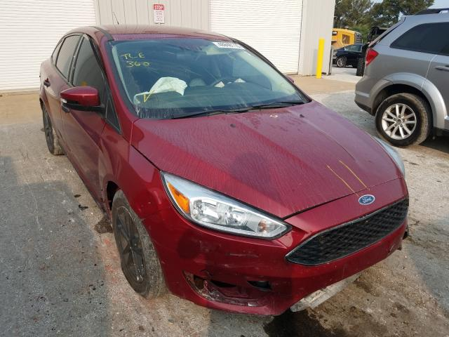 Salvage cars for sale from Copart Rogersville, MO: 2017 Ford Focus SE