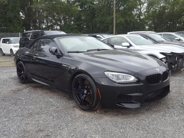 BMW M6 salvage cars for sale: 2012 BMW M6