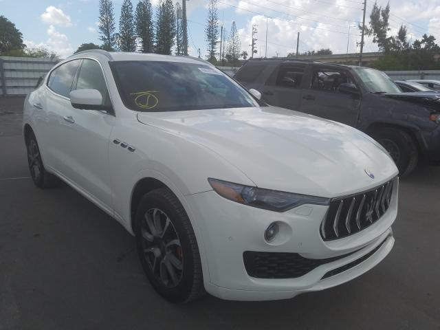 Maserati salvage cars for sale: 2017 Maserati Levante LU