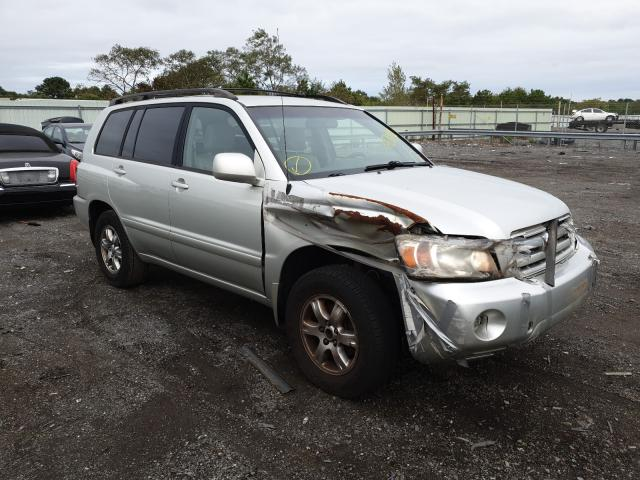 Salvage cars for sale from Copart Brookhaven, NY: 2004 Toyota Highlander