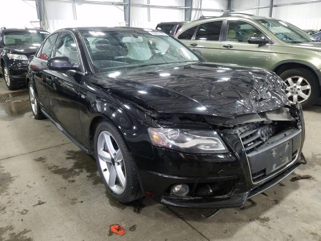 Salvage cars for sale from Copart Ham Lake, MN: 2012 Audi A4 Premium