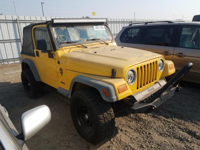 Jeep Wrangler salvage cars for sale: 2004 Jeep Wrangler