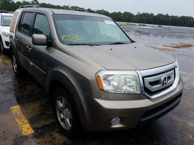 Honda Pilot EXL salvage cars for sale: 2011 Honda Pilot EXL