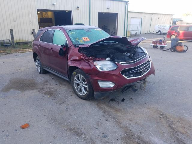 Chevrolet Equinox LT salvage cars for sale: 2017 Chevrolet Equinox LT