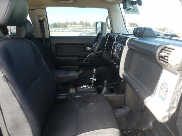 пригнать из сша 2013 Toyota Fj Cruiser 4.0L JTEBU4BF4DK152147
