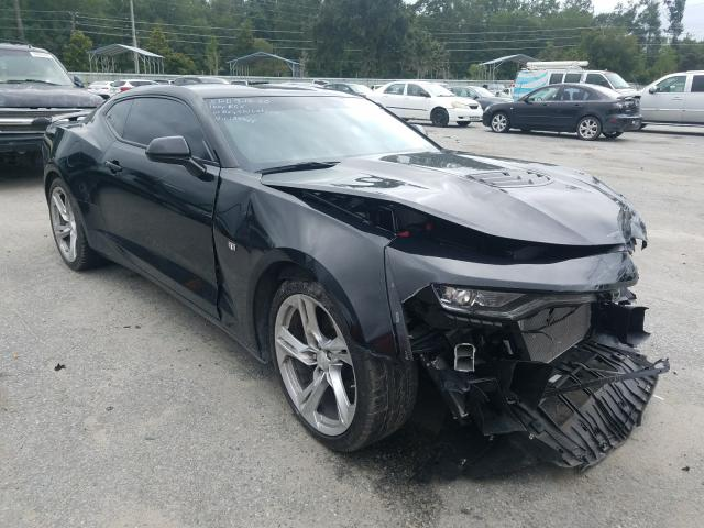 Chevrolet Camaro SS salvage cars for sale: 2019 Chevrolet Camaro SS