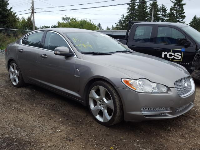 Jaguar salvage cars for sale: 2009 Jaguar XF Superch