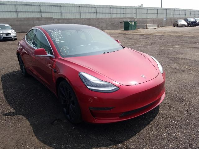 Salvage cars for sale from Copart Albuquerque, NM: 2020 Tesla Model 3