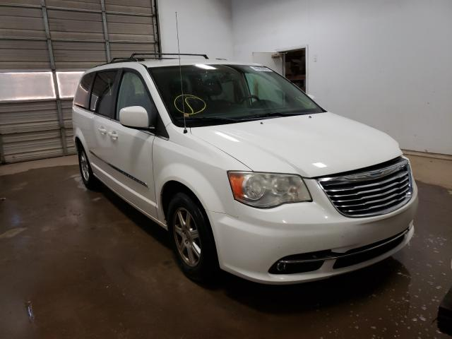 Salvage cars for sale from Copart Davison, MI: 2012 Chrysler Town & Country