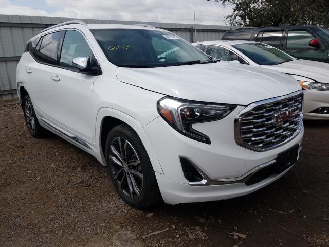 Salvage cars for sale from Copart Mercedes, TX: 2018 GMC Terrain SL