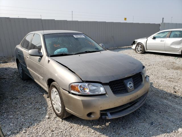 Salvage cars for sale at Greenwood, NE auction: 2004 Nissan Sentra 1.8