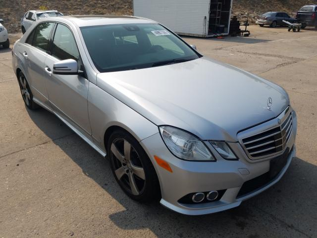 Vehiculos salvage en venta de Copart Littleton, CO: 2010 Mercedes-Benz E 350 4matic