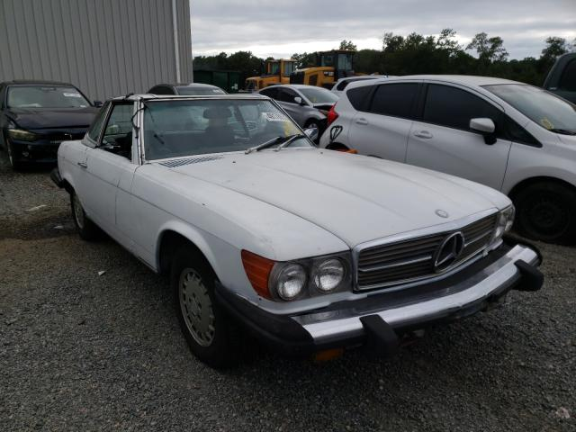 Salvage 1980 Mercedes-Benz 450 SL for sale