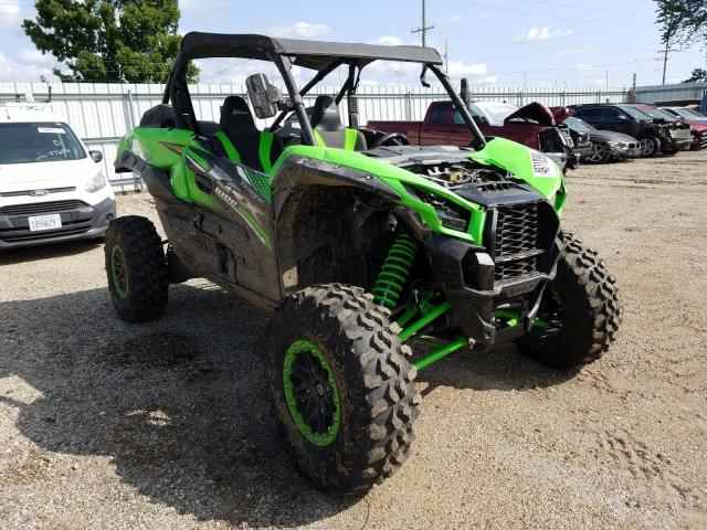 Salvage cars for sale from Copart Pekin, IL: 2020 Kawasaki KRF 1000 A