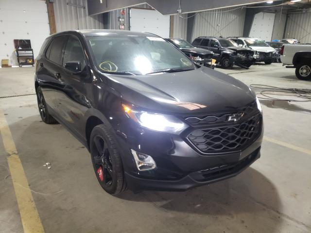 Salvage cars for sale from Copart West Mifflin, PA: 2019 Chevrolet Equinox LT