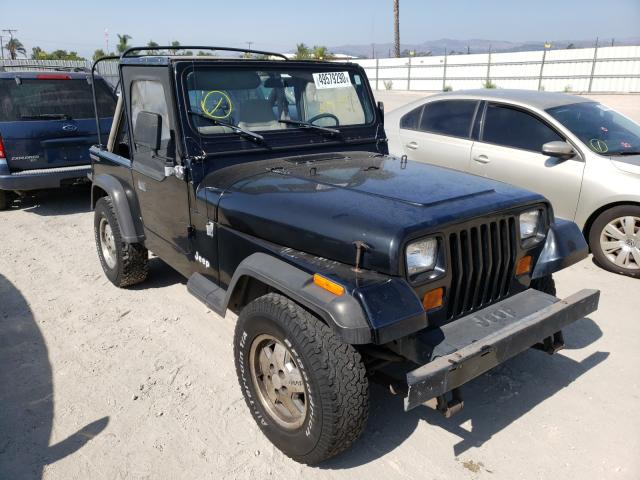 Jeep Wrangler salvage cars for sale: 1989 Jeep Wrangler