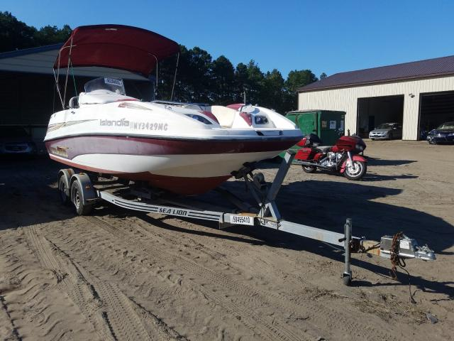Salvage 2004 Seadoo BOAT WITH TRAILER for sale