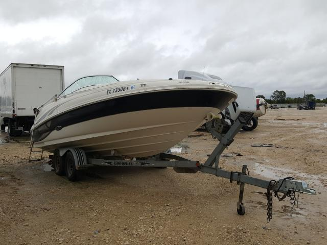 Salvage cars for sale from Copart New Braunfels, TX: 2003 Sea Ray SUNDECK200
