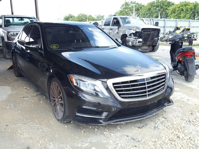 Vehiculos salvage en venta de Copart Homestead, FL: 2016 Mercedes-Benz S 550 4matic